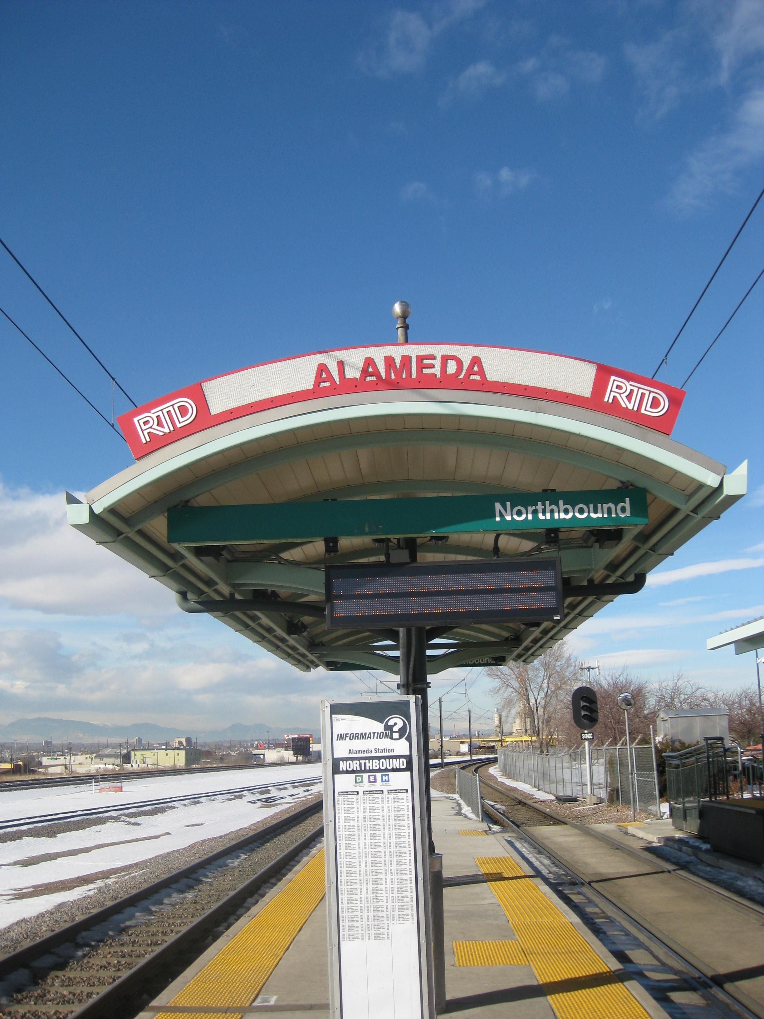 alameda station rtd shelter